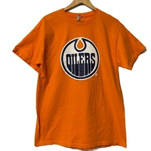 Alstyle Oilers Tee Shirt size L